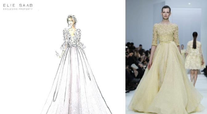 Moda, krijepost &Elie Saab :)