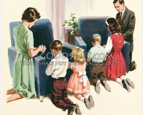 Obiteljska molitva i naslijeđe