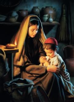 Marija i Isus molitva