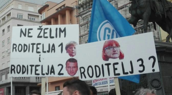 Dvoličnost prosvjed(nik)a #spasime