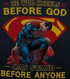 Superman je heroj, a Bog je Bog
