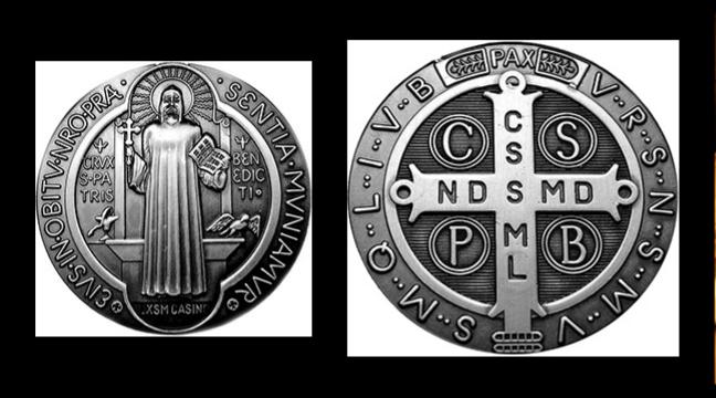 Medaljica sv. Benedikta – Montecassino