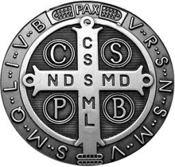 Medaljica sv. Benedikta